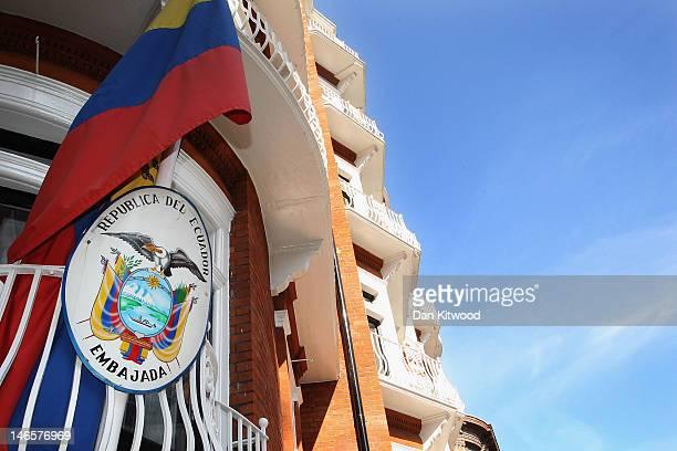 A general view of the Ecuadorian consulate on June 20 2012 in London England Wikileaks Founder Julian Assange has sought asylum at the Ecuadorian...