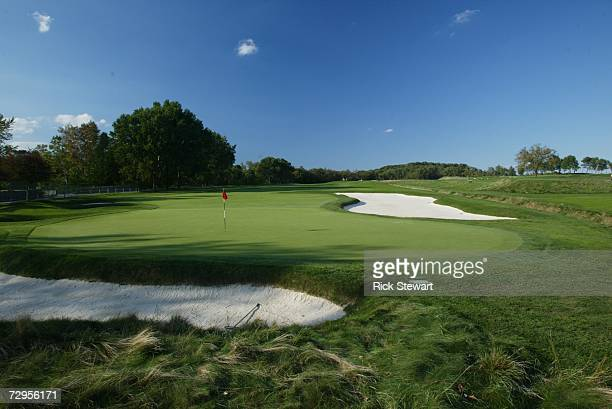 General view of the eighth hole at Oakmont Country Club, site of the 2007 US Open on September 26, 2006 in Oakmont, Pensylvania.