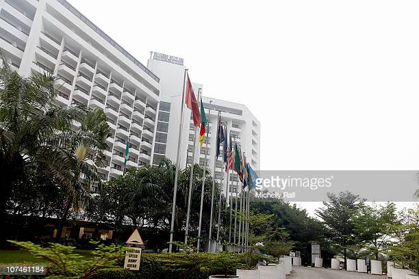 General View of the EKO Hotel adjoining the Eko Expo Centre at the Pre Show Build Up of MTV Africa's Music Awards 2010 in Lagos on December 9 2010 in...