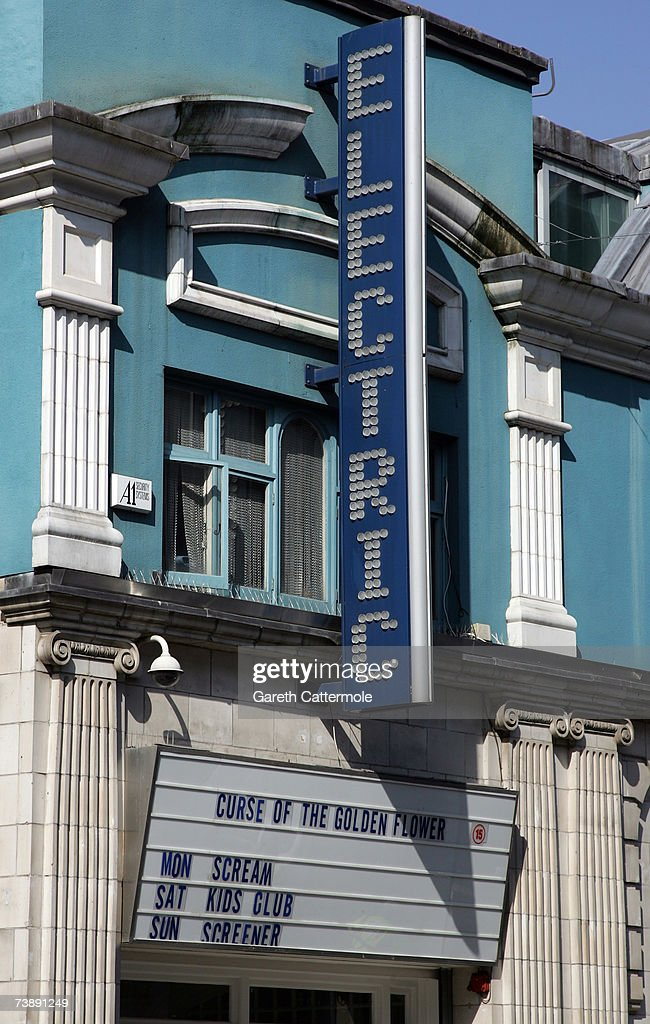 A general view of the Electric Cinema on Portobello Road in Notting Hill in London on April 15, 2007 in London.