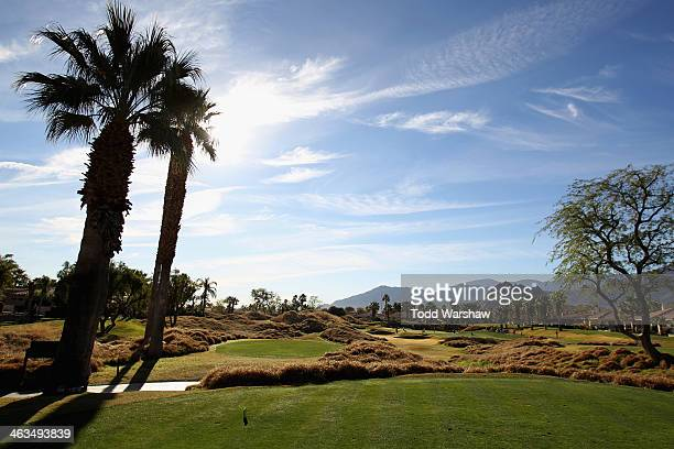 A general view of the eleventh hole during the third round of the Humana Challenge in partnership with the Clinton Foundation on the Jack Nicklaus...