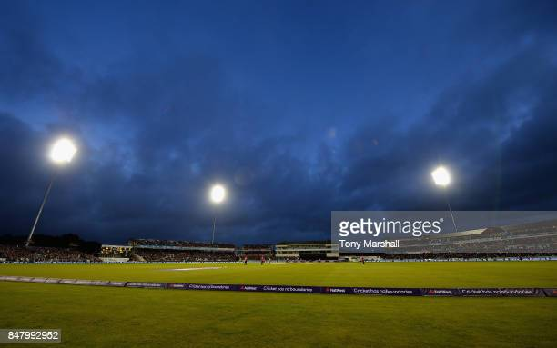 A general view of the Emirates Durham ICG during the 1st NatWest T20 International between England and West Indies at Emirates Durham ICG on...