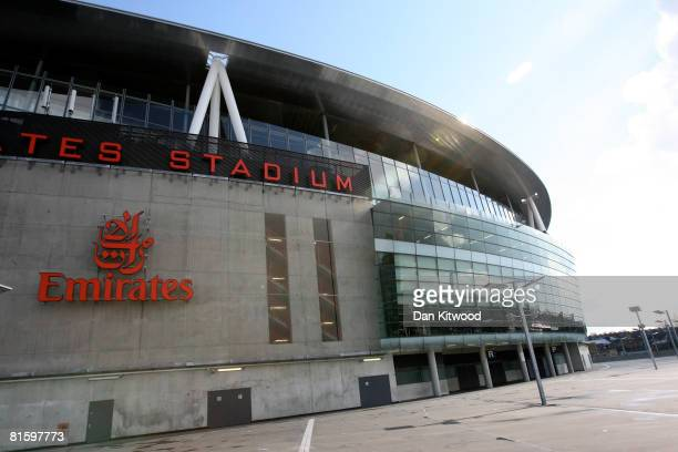 General view of The Emirates Stadium in North London on 27 March, 2008 in London, England. The Stadium is home to Arsenal Football Club and opened in...