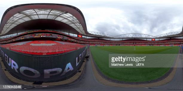 A general view of the Emirates Stadium prior to the UEFA Europa League Group B stage match between Arsenal FC and Dundalk FC at at Emirates Stadium...