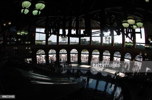 A general view of the entrance from the interior to Citi Field before the game between the New York Mets and the Colorado Rockies on July 30 2009 in...