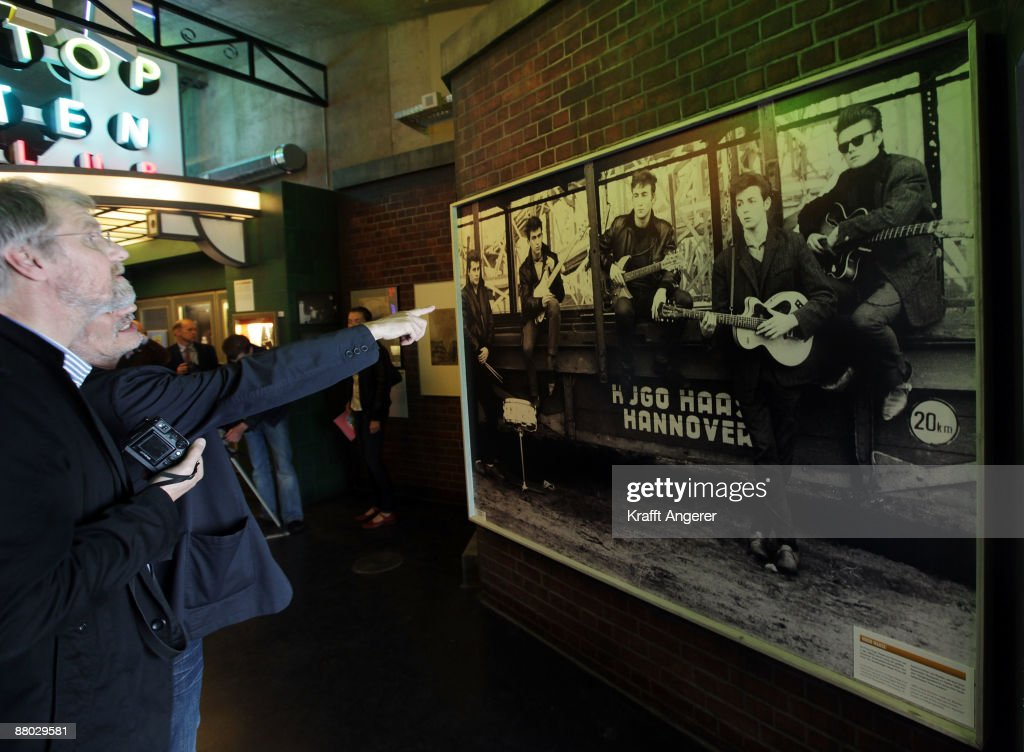 A general view of the entrance room is seen at the Beatlemania exhibition on May 28, 2009 in Hamburg, Germany. The exhibition, which opens tomorrow, shows the development of the Beatles from their beginnings in Hamburg until they split up.