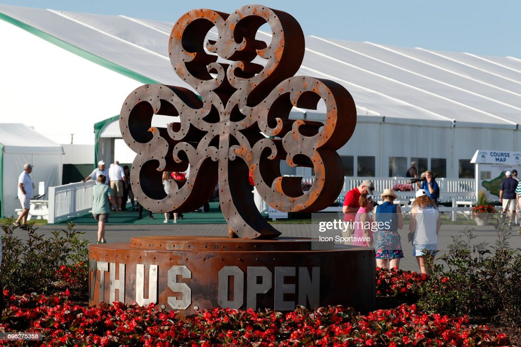 GOLF JUN PGA Th US Open Practice Pictures Getty Images - Erin hills us open map