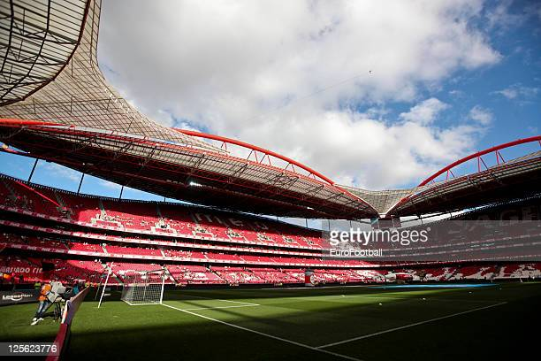 General view of the Estadio da Luz home of SL Benfica taken prior to the Portuguese Primeira Liga match between SL Benfica and Vitoria SC held on...