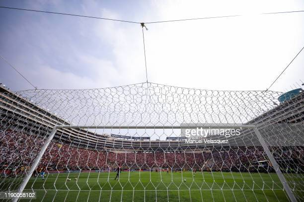 General view of the Estadio Monumental prior the final match of Copa CONMEBOL Libertadores 2019 between Flamengo and River Plate at Estadio...