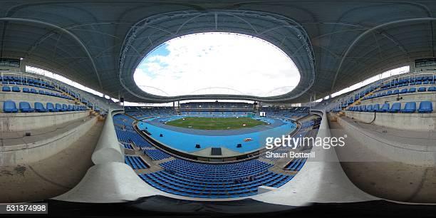 General view of the Estadio Olimpico Joao Havelange before the Ibero American Athletics Championships - Aquece Rio Test Event for the Rio 2016...