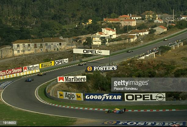 General view of the Estoril circuit during the Portuguese Grand Prix Mandatory Credit Pascal Rondeau/Allsport
