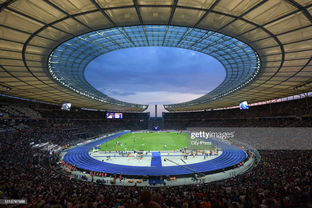 European Athletics Championships Berlin 2018 - day 2 : Photo d'actualité