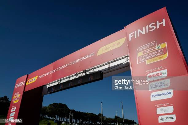 General view of the European Cross Country Championships at the Parque da Bela Vista on December 07 2019 in Lisbon Portugal