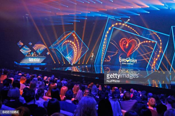 A general view of the Eurovision Song Contest in Kiev Ukraine 25 February 2017 Band OTorvald will represent Ukraine during the Eurovision Song...