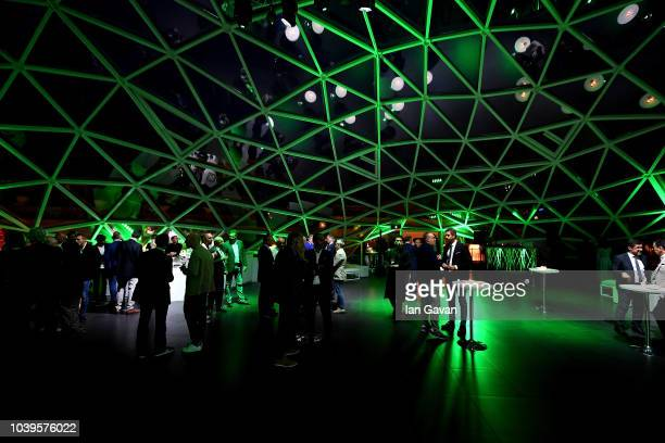 General view of the exclusive party for the Kaspersky Lab 10th Anniversary in Italy in the beautiful venue of 'La Lanterna', designed by the famous...