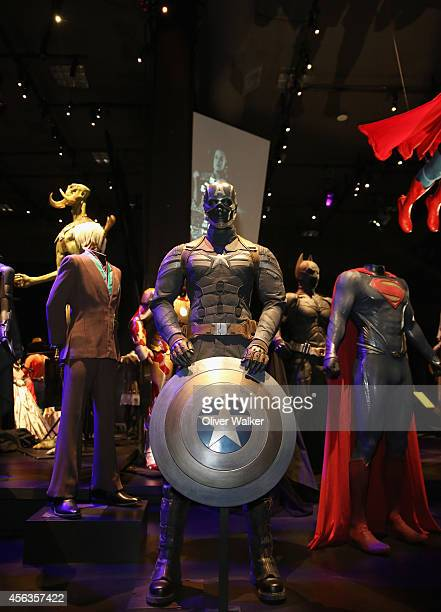 General view of the exhibit at The Academy Of Motion Picture Arts And Sciences' Hollywood Costume Press Preview at Academy Of Motion Picture Arts And...