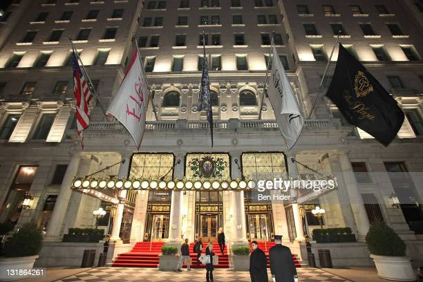 A general view of the exterior before the 2010 Living Landmarks Celebration at The Plaza Hotel on November 3 2010 in New York City