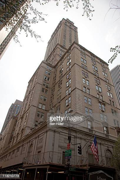 A general view of the exterior facade at the Pierre Hotel on April 27 2011 in New York City