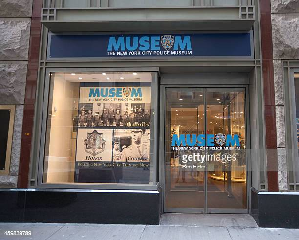General view of the exterior facade of The New York City Police Museum on December 31, 2013 in New York City.