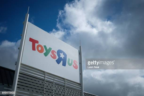 A general view of the exterior of a branch of the toy staore Toys R Us on September 19 2017 in Luton England The company has struggled to compete...