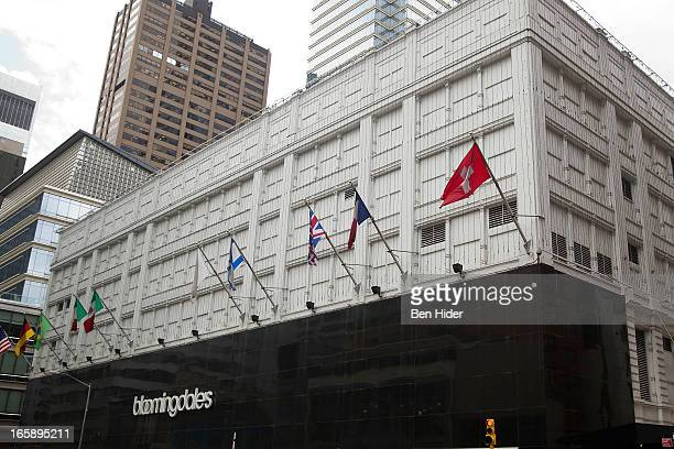 A general view of the exterior of Bloomingdales flagship Department Store on March 28 2013 in New York City