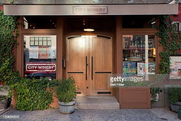 A general view of the exterior of City Winery on August 5 2011 in New York City