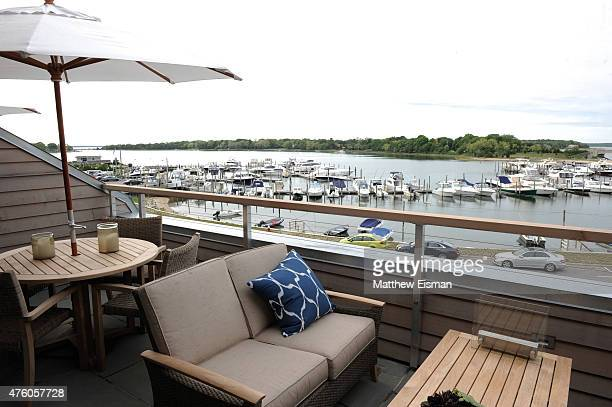 A general view of the exterior of Harbors Edge on June 5 2015 in Sag Harbor New York