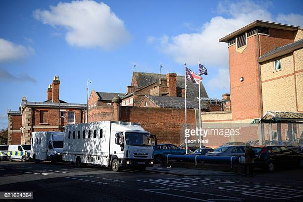 A general view of the exterior of HMP Bedford on November 7 2016 in Bedford England Reports suggest between 150 and 230 prisoners were involved in a...