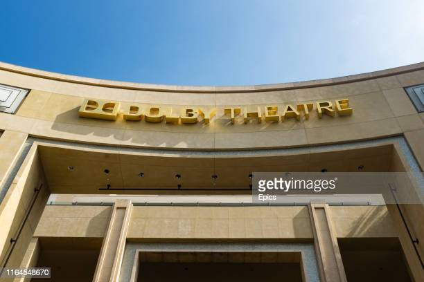 A general view of the exterior of the Dolby theater on Hollywood Boulevard Los Angeles Since its opening on November 9 the theater has been the venue...