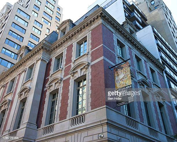 A general view of the exterior of the Neue Galerie on October 7 2011 in New York City