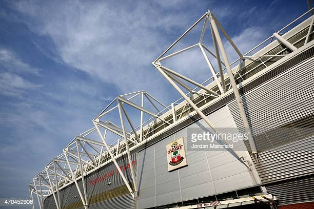 A general view of the exterior of the stadium ahead of the Under 21 Premier League Cup Final Second Leg match between Southampton and Blackburn...
