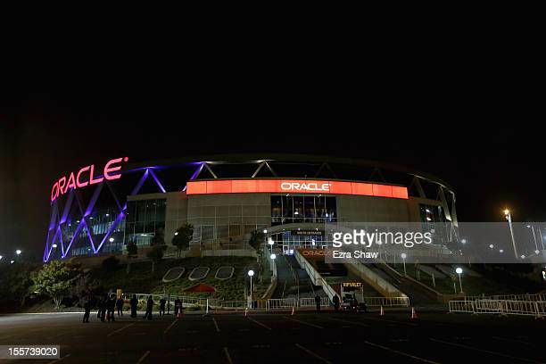 Oracle Arena Exterior Stock Fotos Und Bilder Getty Images
