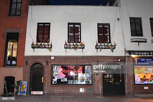 A general view of the exterior of the Stonewall Inn on January 21 2010 in New York City