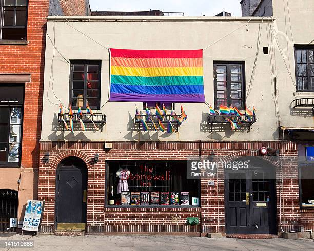A general view of the exterior of The Stonewall Inn on March 13 2012 in New York City The Stonewall is an American bar that was the site of the...
