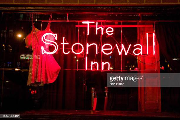 A general view of the exterior of the Stonewall Inn on March 2 2011 in New York City