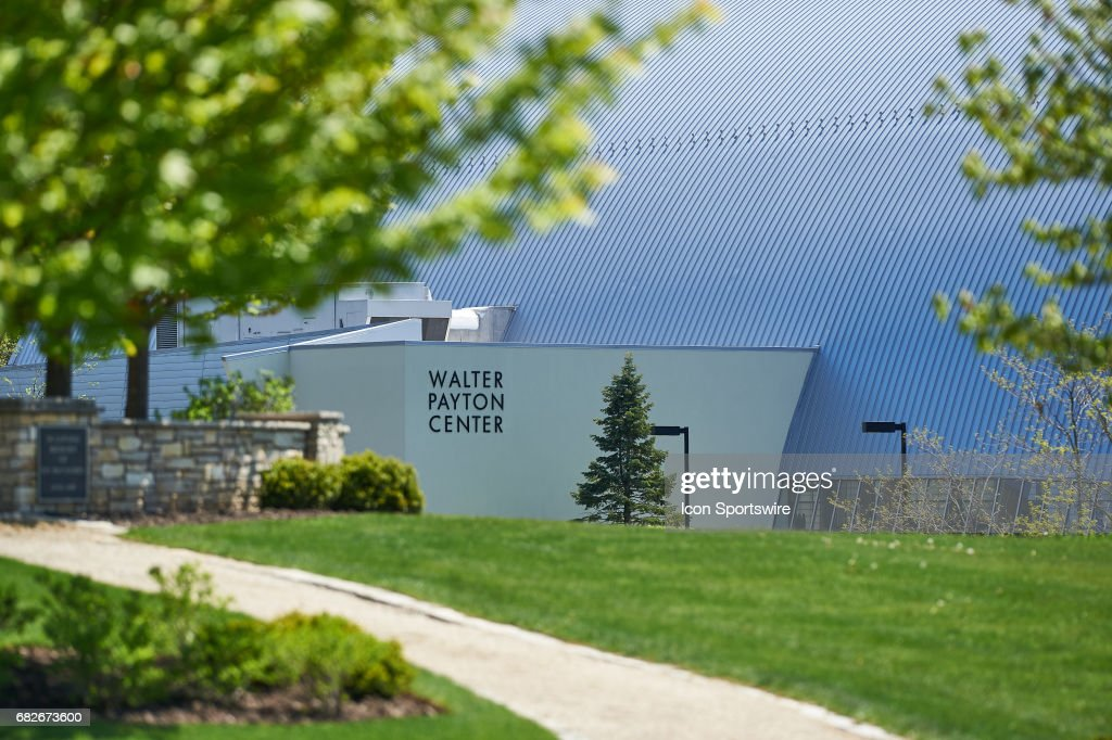 A general view of the exterior of the Walter Payton Center