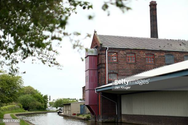 A general view of the exterior of William Edwards Home Ltd during the production of a speacial edition crockery set ahead of the wedding of Prince...