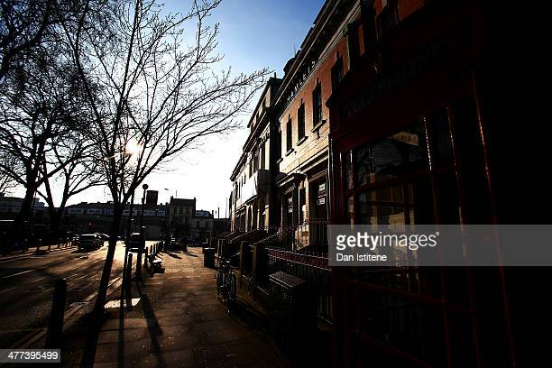 A general view of the exterior of York Hall on March 8 2014 in London England