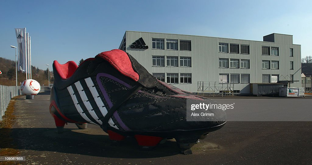 General view of the factory of German sporting-goods maker Adidas AG on February 23, 2011 in Scheinfeld, Germany. The world's second biggest sports equipment and clothing maker, adidas, will present its 2010 result during a press conference on March 2, 2011.