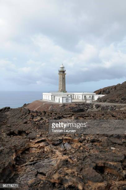 A general view of the Faro de Ochilla lighthouse on El Hierro Island January 13 2010 in El Hierro Island Spain The island inspired and features in...