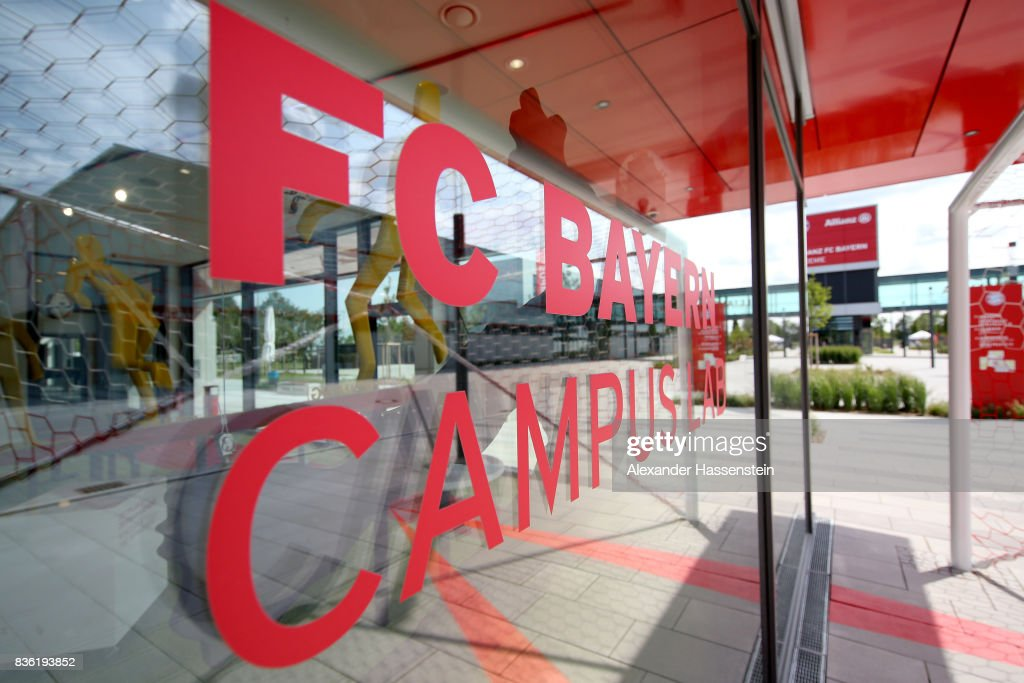 FC Bayern Campus Opening Ceremony : News Photo