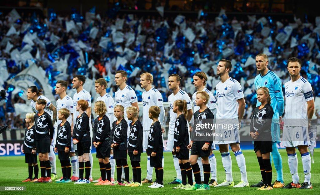 FC Copenhagen vs Qarabag FK - UEFA Champions League Playoff 2nd Leg : News Photo