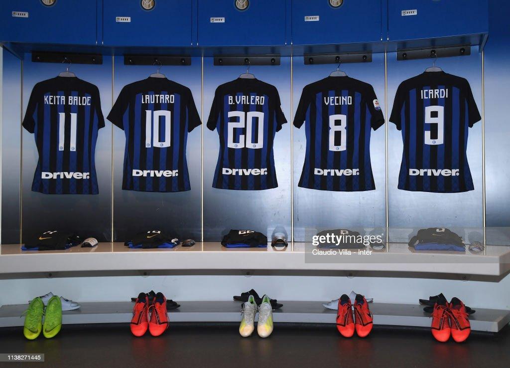 ITA: FC Internazionale v AS Roma - Serie A