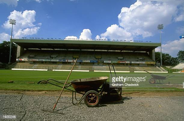 General view of the Felix Bollaert Stadium in Lens France France is the venue for the 1998 World Cup Mandatory Credit Graham Chadwick/Allsport