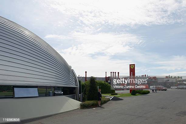 A general view of the Ferrari offices on July 19 2011 in Maranello Italy The Ferrari World Design Contest has been launched by Ferrari in...