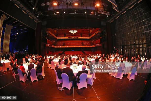 General view of the Festspielhaus during the culture evening programme at the G20 finance ministers meeting on March 17 2017 in BadenBaden Germany...