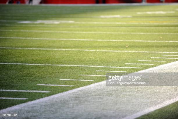 General view of the field before a game between the New England Patriots and the Buffalo Bills on November 9, 2008 at Gillette Stadium in Foxboro,...