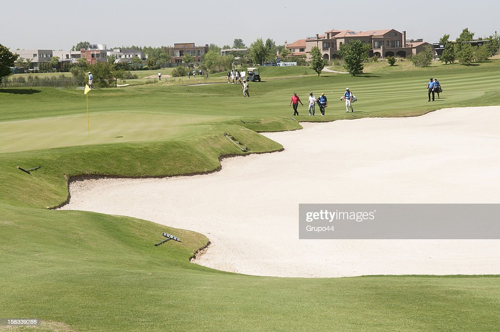 General view of the field during the opening day of the 107 Visa Golf Open presented by Peugeot as part of the PGA Latin America at Nordelta Golf Club on December 13, 2012 in Buenos Aires, Argentina.