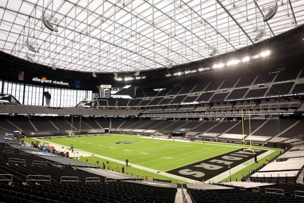 NV: New Orleans Saints v Las Vegas Raiders