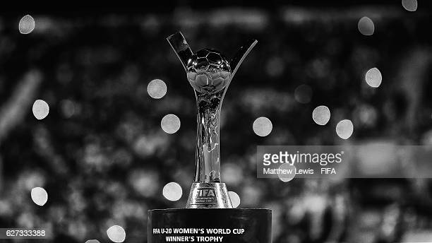 A general view of the FIFA U20 Women's World Cup during the FIFA U20 Women's World Cup Papua New Guinea 2016 Final between Korea DPR and France at...